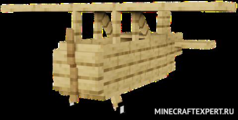 Ultimate Plane [1.16.3] [1.15.2] (деревянные самолеты)