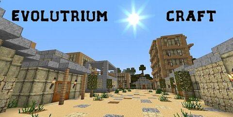 Evolutrium Craft Resource Pack 1.7.10/1.7.2/1.6.4 [64x]