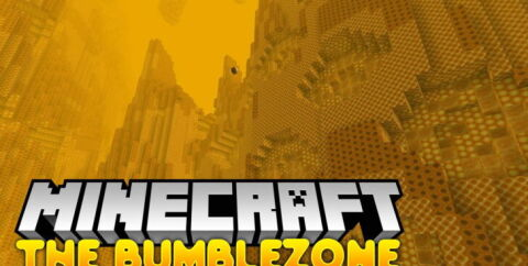 The Bumblezone [1.17] [1.16.5] [1.15.2] (пчелиное измерение)