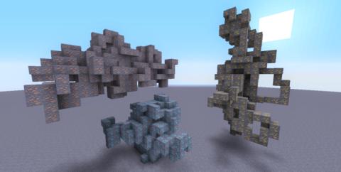 Large Ore Deposits — большие рудные жилы [1.15.2] [1.14.4] [1.12.2]