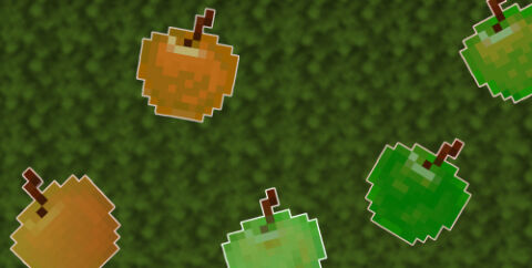 More Apples Various [1.16.1] [1.15.2] (9 сортов яблок)