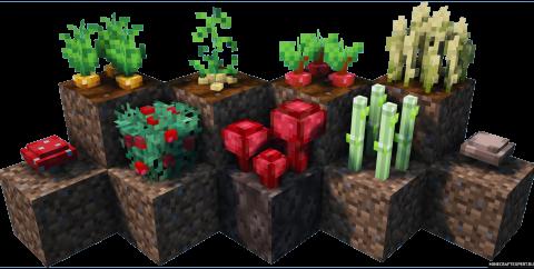 Crops 3D [1.15.2] [1.14.4] (16x)