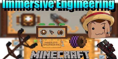Immersive Engineering [1.16.5] [1.15.2] [1.12.2] [1.7.10] (Добыча руды и производство)