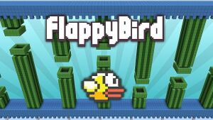 Flappy Bird in Minecraft Map [1.8] [1.7]