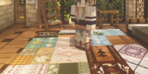 Nox's Better Carpets [1.16.4] (16x) (красивые текстуры ковров)
