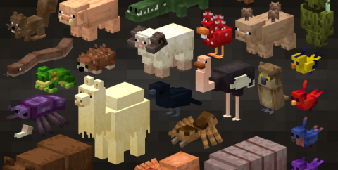 Animal update [1.15.2] [1.14.4] (мод на мобов)