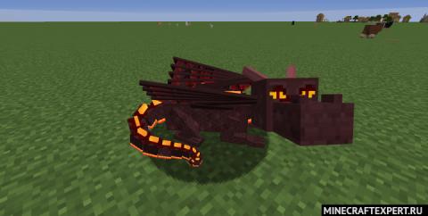 Dragon Mounts: Legacy [1.16.3] [1.15.2] (приручи дракона)
