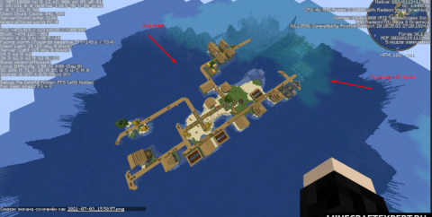 Сид — Деревня на воде и подводный храм [1.16.5]