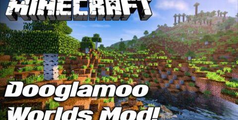 Dooglamoo Worlds [1.14.4] [1.12.2] (реалистичные биомы)