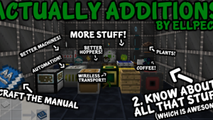 Actually Additions [1.12.2] [1.11.2] [1.10.2] [1.7.10]