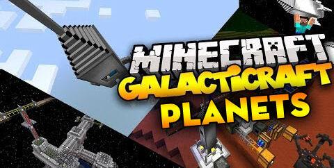 Galacticraft [1.12.2] [1.7.10] (мод на космос)