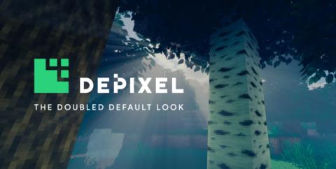 Depixel (Default 32×32) [1.16.5] [1.15.2] [1.14.4] [1.12.2] (32x)