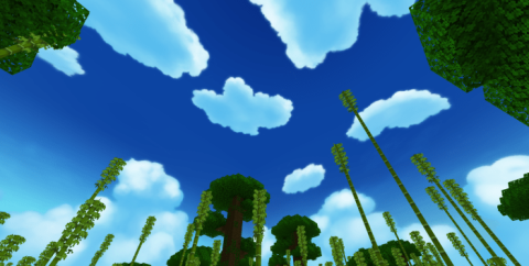 Anime Sky [1.16] (небо как в аниме)