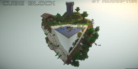 Cube Block [1.14.4] [1.12.2] (выживание на кубах)