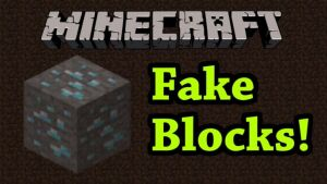 Fake Blocks [1.11.2] [1.10.2] [1.9.4] [1.8.9]
