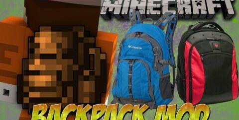 Useful Backpacks [1.16.4] [1.15.2] [1.14.4] [1.12.2] (простые рюкзаки)