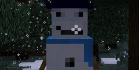 Cold Snap Horde [1.17.1] [1.16.5] — агрессивные снеговики
