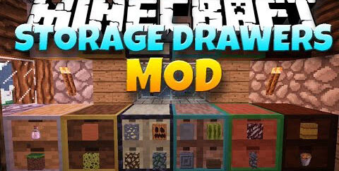 Storage Drawers [1.16.3] [1.15.2] [1.12.2]