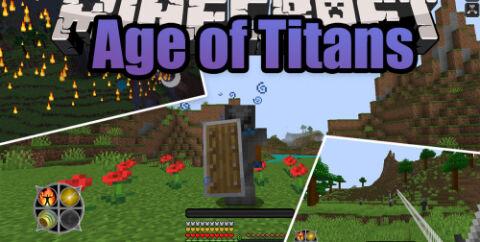 Age of Titans [1.15.2] (заклинания и предметы для троллинга)