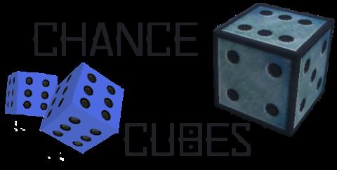 Chance Cubes [1.16.5] [1.15.2] [1.12.2] (блоки со случайным лутом)