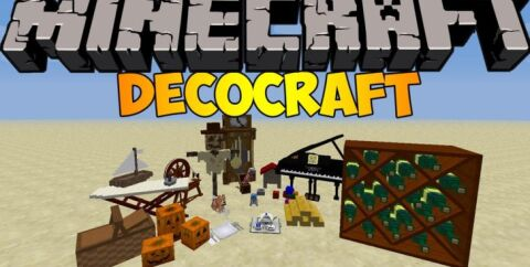 DecoCraft [1.12.2] [1.7.10] (декокрафт)
