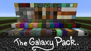 The Galaxy Pack [1.12.2] [1.11.2] [1.10.2] (64x)