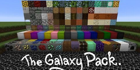 The Galaxy Pack [1.16.3] [1.15.2] [1.14.4] [1.12.2] (64x)