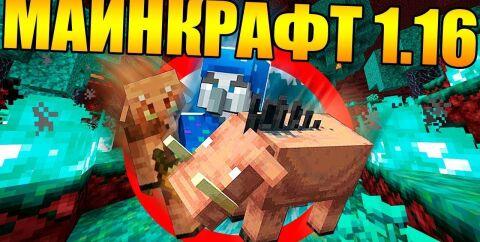 Скачать Minecraft 1.16.5 — Адское обновление