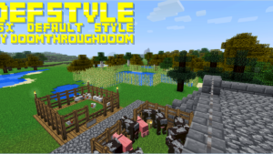 Defstyle Resource Pack 1.7.10/1.7.2/1.6.4 [16x]