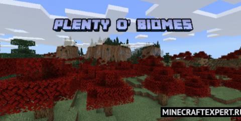 Plenty O' Biomes [1.16] — 20 биомов и новые предметы
