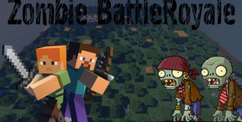 Zombie BattleRoyale [1.16.5] — королевская битва
