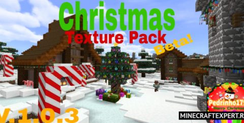 Christmas Texture Pack HD [1.16] (Новогодний текстур пак)