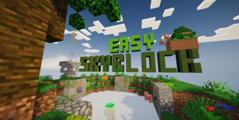 Easy SkyBlock [1.15.2] [1.14.4] (Простой Скайблок)