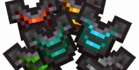 Upgraded Netherite [1.16.5] — улучшение незеритовой брони