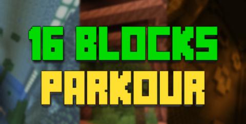 16 блоков паркура [1.17.1]
