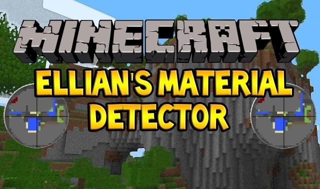 Ellian's MaterialDetector [1.12.2] [1.11.2] [1.8.9] [1.7.10]