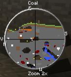 Material Detector Mod 1.8/1.7.2/1.6.4/1.5.2