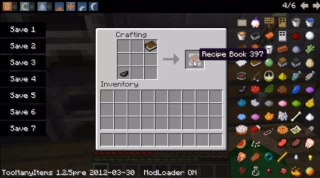 Recipe Book 1.6.4