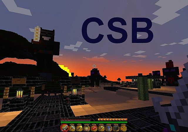 CSB Resource pack 1.8/1.7.10/1.7.2 [16x]