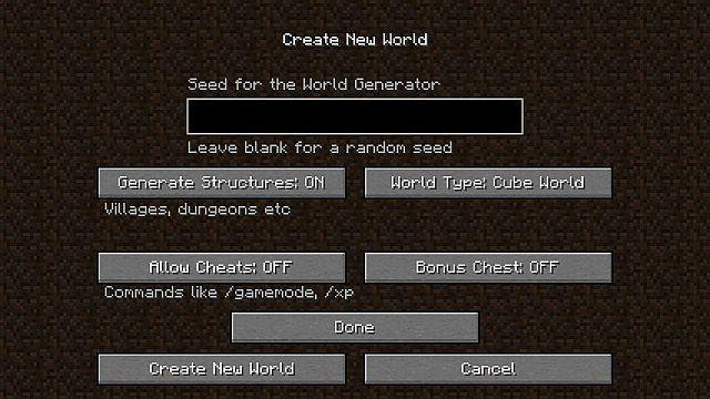 Cube World [1.10.2] [1.9.4] [1.8] [1.7.10]