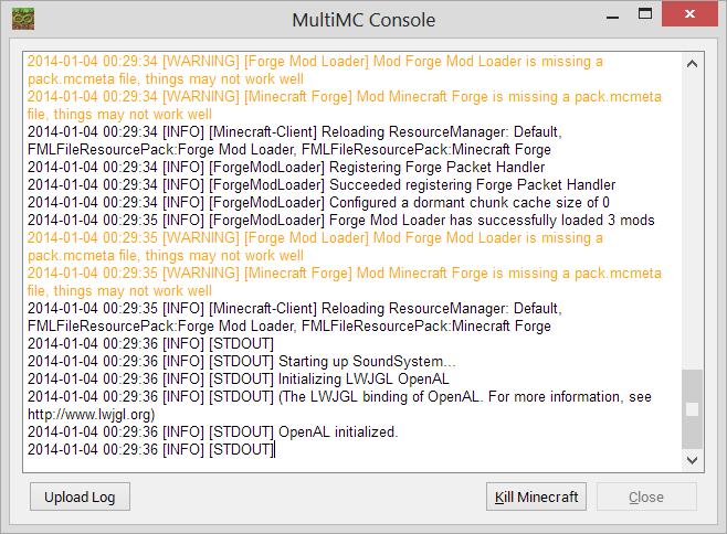 MultiMC [WIN] [LIN] [MAC]