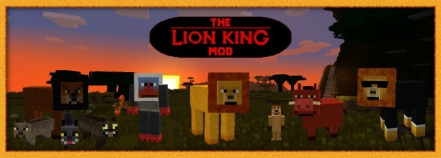 The Lion King Mod [1.6.4]