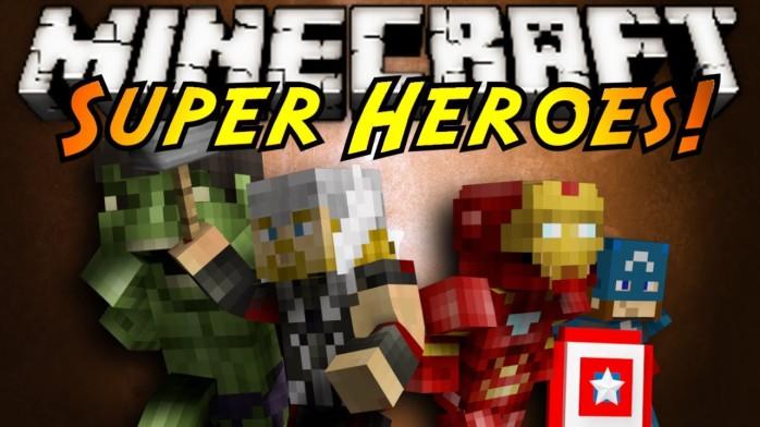 Super Heroes [1.7.10] [1.7.2] [1.6.4]
