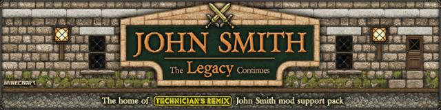 John Smith Legacy [1.14.3] [1.13.2] [1.12.2] [1.7.10] (64x)