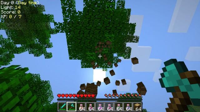 TreeCapitator [1.12.2] [1.11.2] [1.10.2] [1.7.10] (быстрая рубка деревьев)