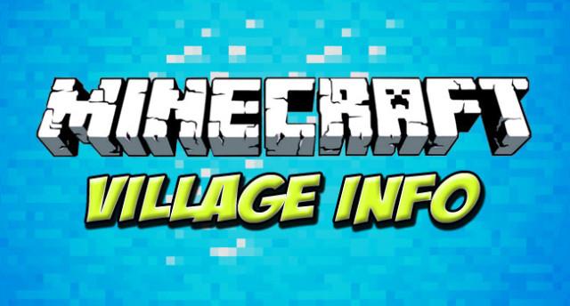 Village Info 1.7.10/1.7.2/1.6.4/1.5.2