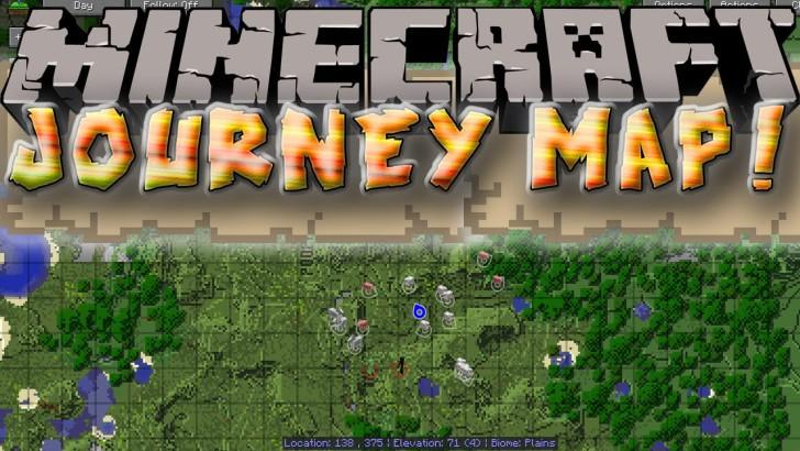 JourneyMap [1.12.2 - 1.7.10]