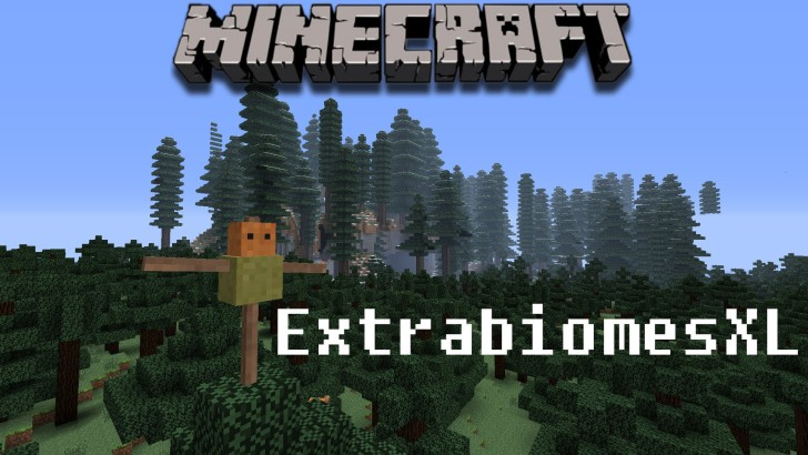 ExtraBiomes XL 1.7.10/1.6.4