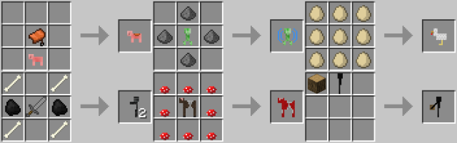 Craftable Animals [1.11] [1.10.2] [1.8] [1.7.10]