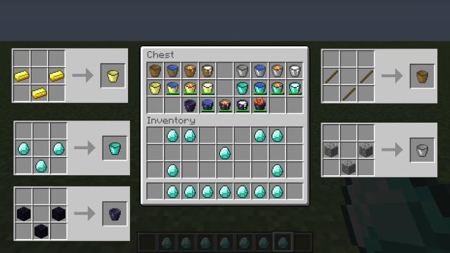 Bucket Craft Mod [1.7.2] [1.6.4]